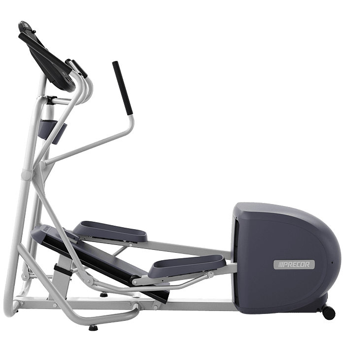Precor EFX 222 Elliptical Fitness Crosstrainer on a transparent background