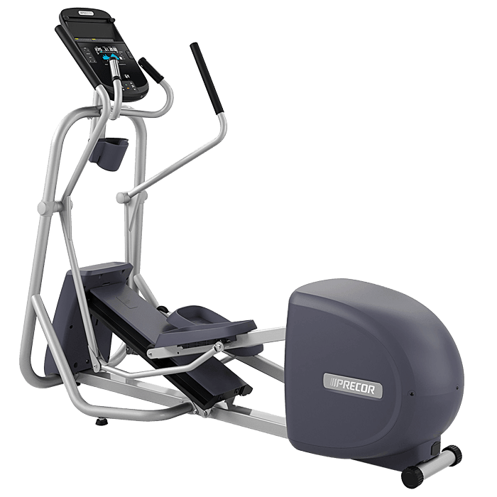 Precor EFX 225 Elliptical Fitness Crosstrainer on a transparent background