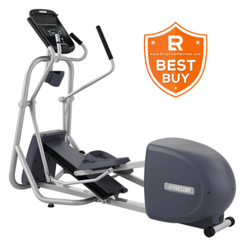 Precor EFX 245 Elliptical Trainer Machine with best buy logo