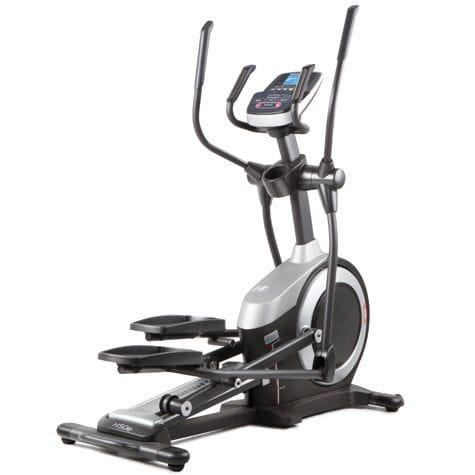 HealthRider H50E Elliptical Trainer in black and silver frame