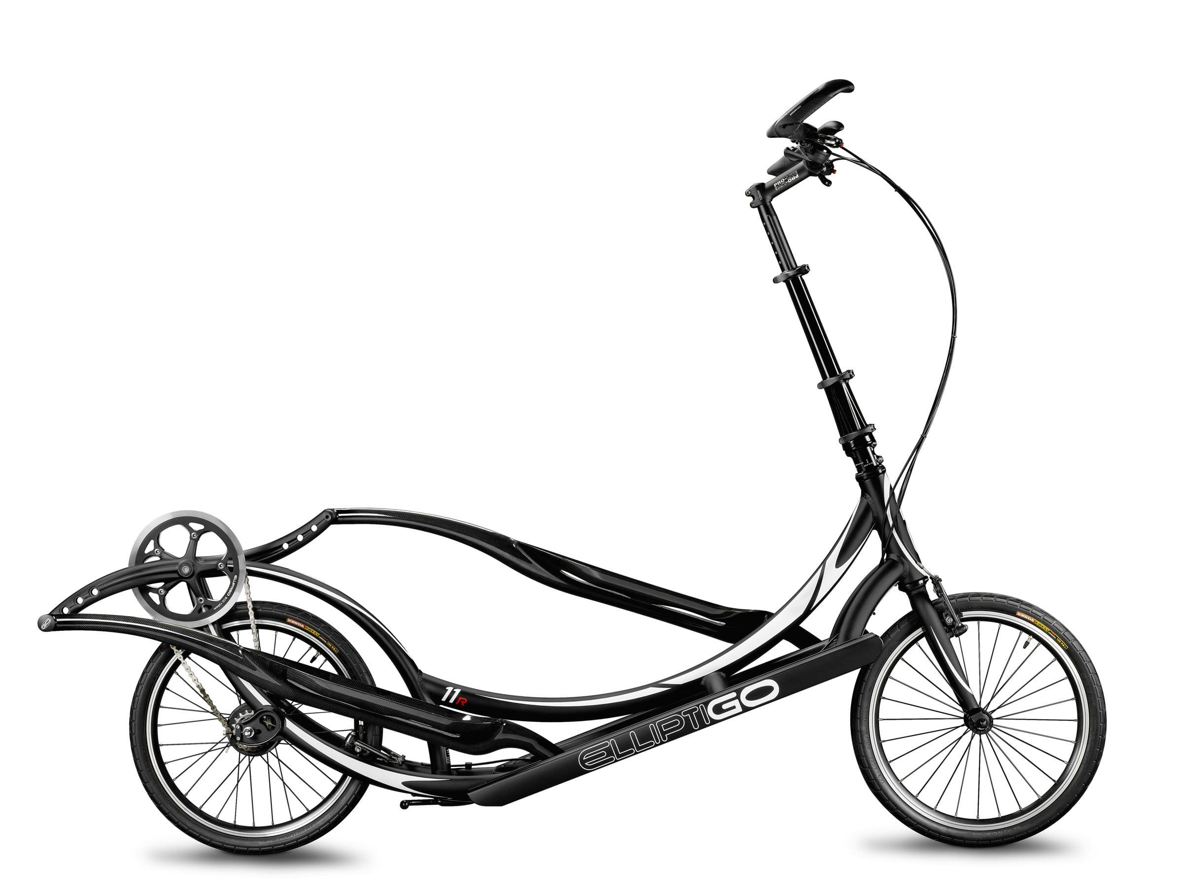 ElliptiGO 11R in full black aluminum frame