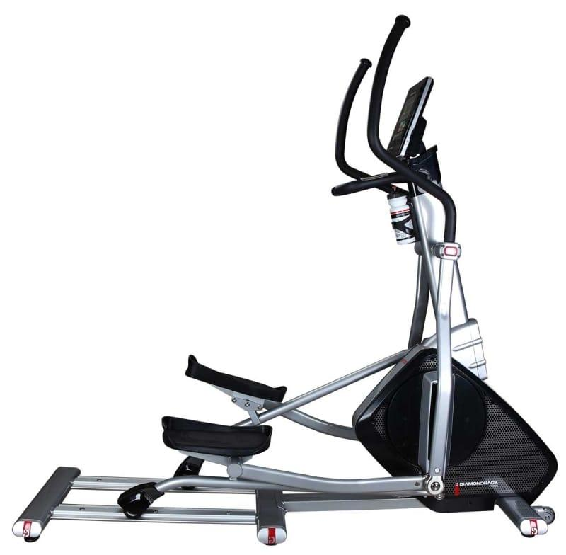 Diamondback 510EF Elliptical in silver frame