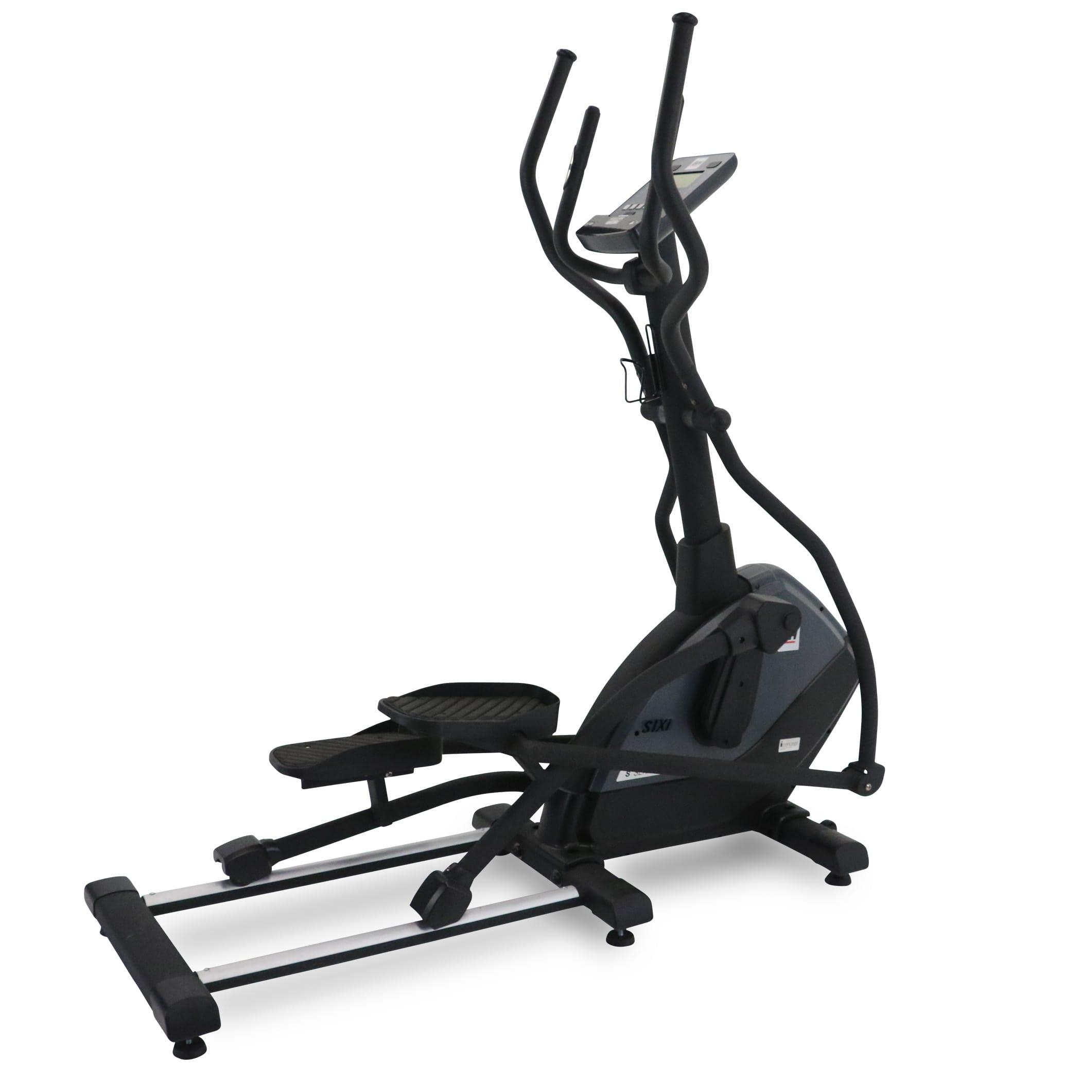 BH Fitness S1Xi Elliptical Machine look fantastic in a full matte black body frame