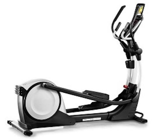 Proform Smart Strider 495 CSE Elliptical in white and black color