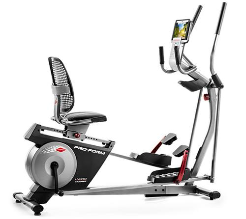 ProForm Hybrid Trainer XT Elliptical Bike.